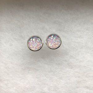 Light Purple Earring Set